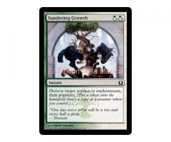 Sundering Growth -  Return to Ravnica - NUEVO/MINT- MTG  - 223