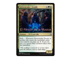 Grovetender Druids -  Battle for Zendikar - NUEVO/MINT- MTG - 212