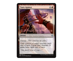 Turn Against - Battle for Zendikar - NUEVO/MINT- MTG - 135