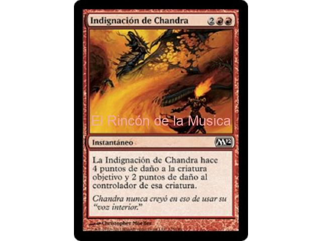 Indignación de Chandra - Magic 2011 - NUEVO/MINT- MTG - 128