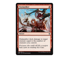 Outnumber - Battle for Zendikar - NUEVO/MINT- MTG  - 150