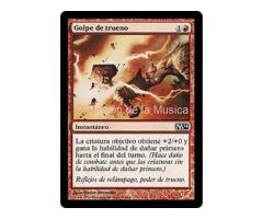 Golpe de trueno - Magic 2014 Core Set - NUEVO/MINT- MTG - 159