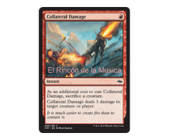 Collateral Damage - Fate Reforged - NUEVO/MINT- MTG - 095