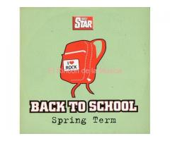 BACK TO SCHOOL - SPRING TERM