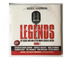 LEGENDS Volume 1 & 2 - LIVE TRACKS FROM SOME OF THE WORLD'S GREATEST ARTISTS